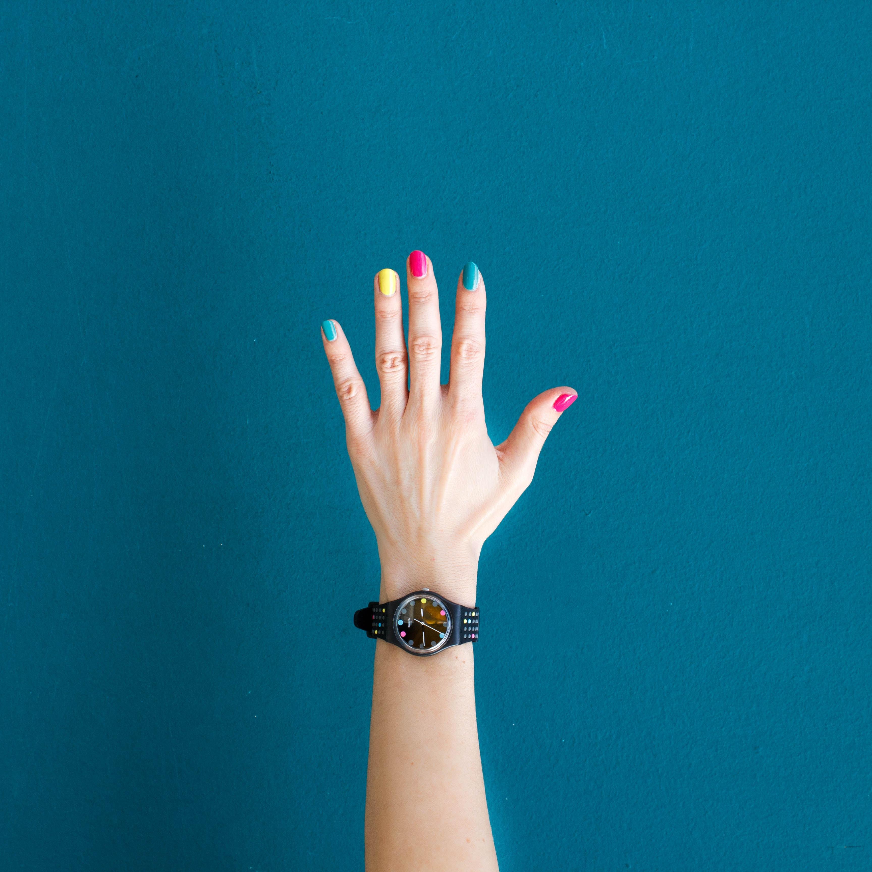 4 simpele nagellak designs!